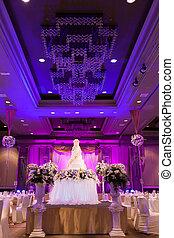 banquete, boda