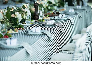banquete, casório