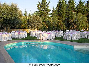 banquete, recepção