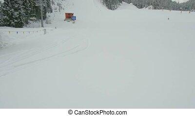 Bansko Mountain Pirin - Bulgaria. Bansko.11 March 2017 Ski...