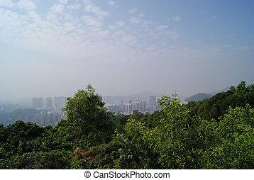 Bao overlooking