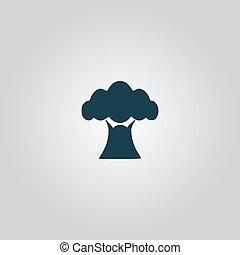 baobab kopyto, ikona