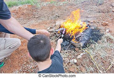 baomer, たき火, イスラエル, 遅れ