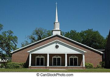 Baptist Church - First Baptist Church of Trenton, Florida.