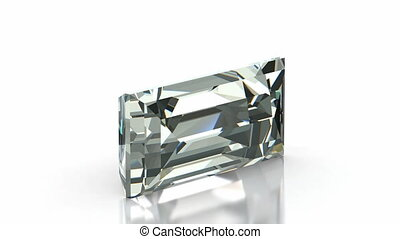 Baquette Cut Diamond