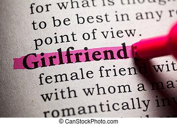 barátnő