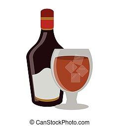 Bar alcohol drinks