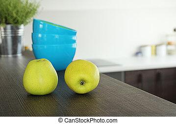 bar, appeltjes , keuken