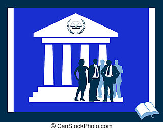 Bar association - Layers and court