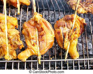 Bar-B-Q or BBQ grill