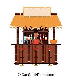 Bar beach kiosk