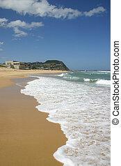 Bar Beach - Newcastle Australia on a sunny summer\'s day