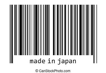 Bar code - made in japan