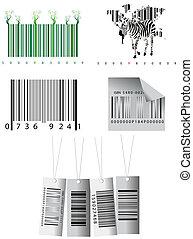 Bar codes  - Different bar codes