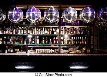 bar, disco