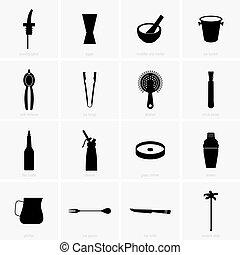 Bar equipment - Set of bar equipment