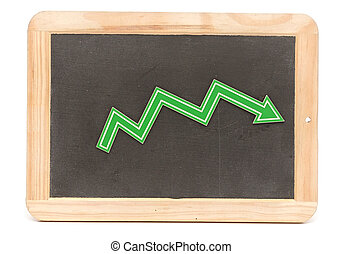 Bar graph of down