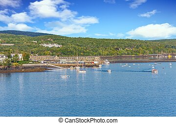 Bar Harbor from the Sea