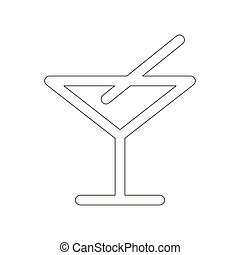 Bar icon illustration