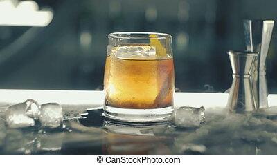bar, ijs, cocktail
