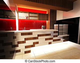 bar, innenarchitektur
