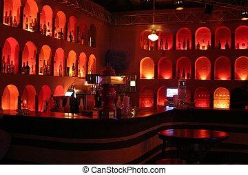 Bar - interesting bar display