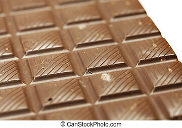 bar of chocolate with nuts