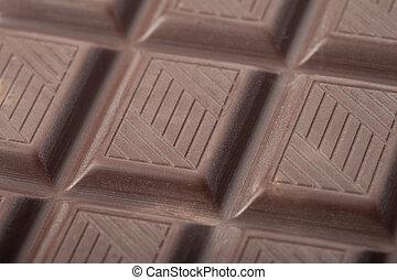 Bar of milk chocolate