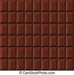 bar, pattern., seamless, chocolade, vector, achtergrond, melk