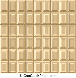 bar, pattern., seamless, chocolade, vector, achtergrond, witte