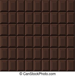 bar, pattern., seamless, czekolada, wektor, czarne tło