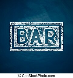 bar, pictogram