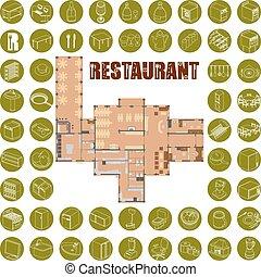 Bar Restaurant Icons