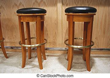 Bar Stools - an image of a couple of bar stools