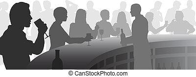 bar, wijntje