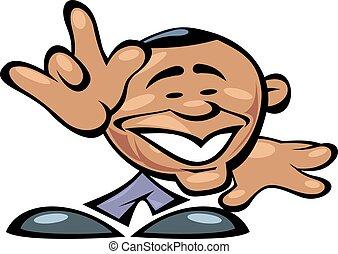 barack, 微笑, obama