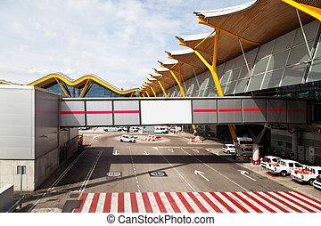 Barajas Airport Runway