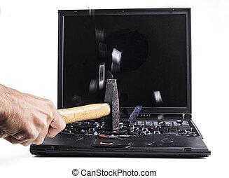 baraking, laptop