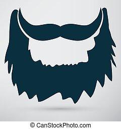 barba, ícone