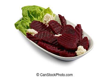 barbabietola rossa, barbaforte, insalata