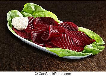 barbabietola rossa, insalata
