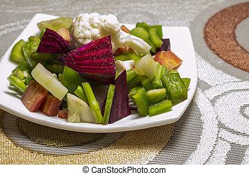 barbabietola, verdura, insalata