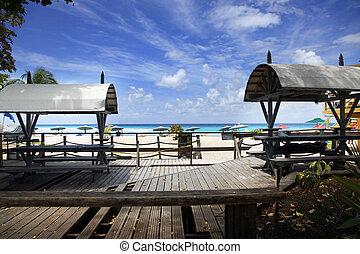 Dover Beach - Barbados. St. Lawrence Gap. Dover Beach