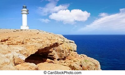 Barbaria cape Formentera lighthouse