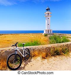 barbaria, faro, formentera, bicicleta, balear
