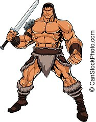 Barbarian on White