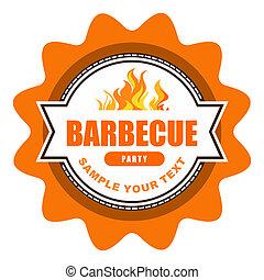 barbecue, étiquette