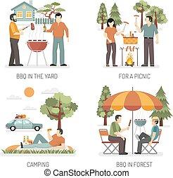 Barbecue 2x2 Design Concept