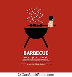 Barbecue. - Barbecue Vector Illustration.