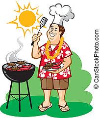 barbecue, (bbq), farsa